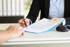 Eldercare Legal papers